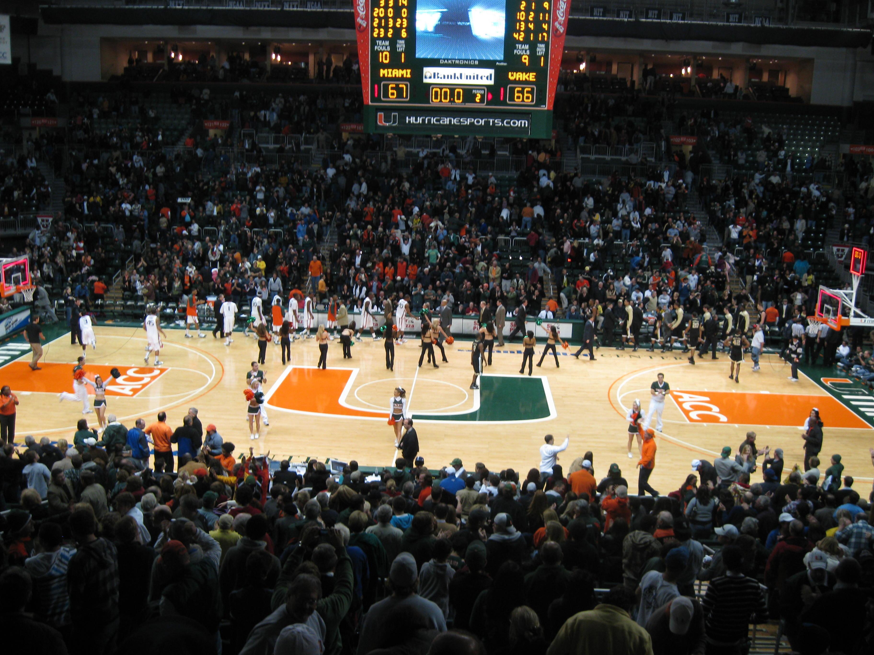 Miami - Wake Forest - Basketball