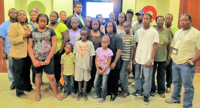 Jacy Whittaker and Edden Family - Freeport Bahamas
