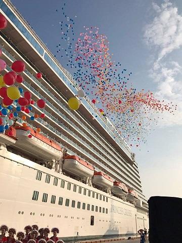 Princess Cruises Balloon Release