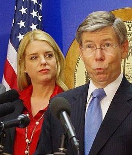 Pam Bondi Tom McCollum Royal Caribbean