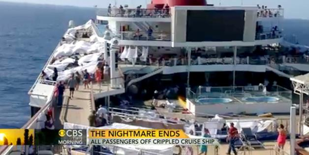 Carnival Cruise ship Nightmare