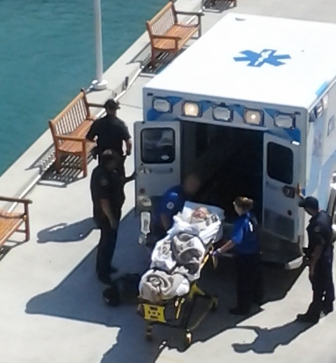 Why Did Carnival Delay Rescuing An Overboard Passenger From The - Cruise ship jumper