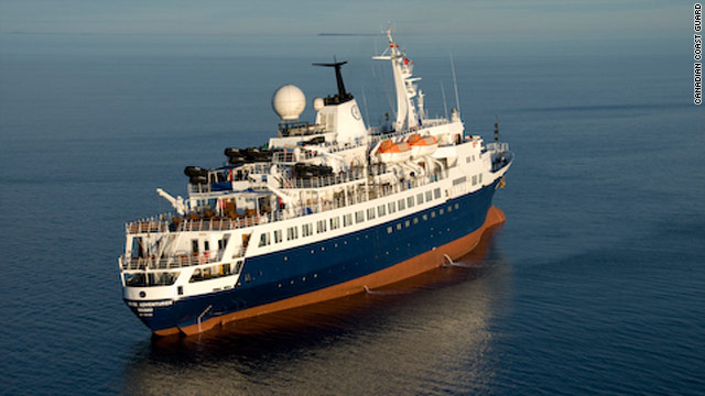 Clipper Adventurer Cruise Ship Ran Aground
