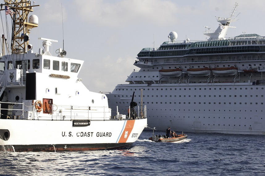 Cruise Lines Depend On US Coast Guard For Safety Security But - Coast guard cruise ship