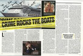 TIME Magazine - Crime Rocks the Boats - Cruise Ship Crime