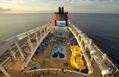 Disney Fantasy Cruise Ship Pool Near Drowning