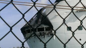 Grandeur of the Seas Cruise Ship Fire