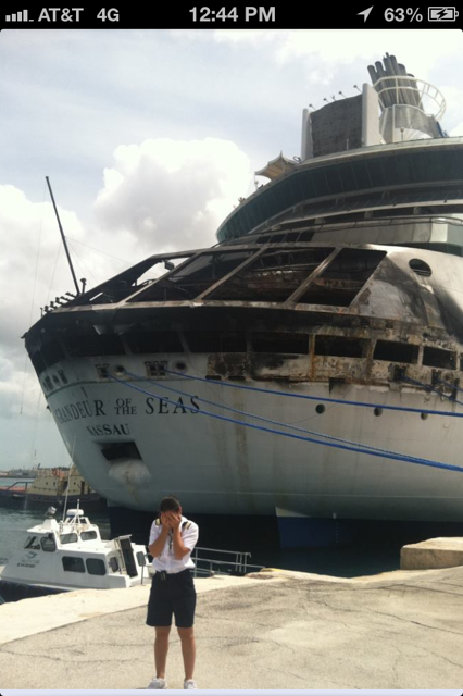 Grandeur of the Seas - Cruise Ship Fire