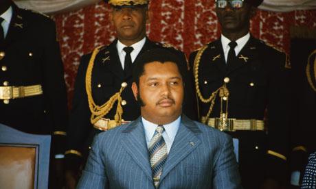 Baby Doc Dulavier - Dictator - Haiti