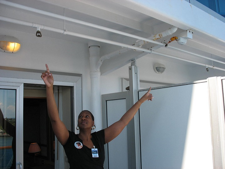 Fire detection cruise law news for Balcony on cruise ship