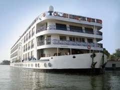 Nile Festival Cruise Ship Fire