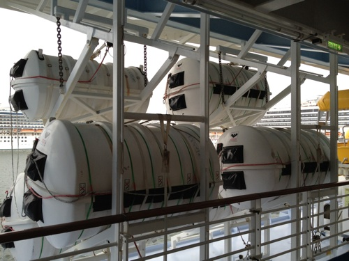 Oasis of the Seas Canister Chute System