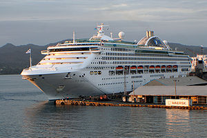 Sun Princess Cruise Ship