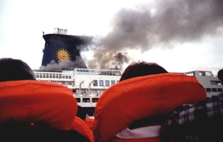 Sun Vista Cruise Ship Fire