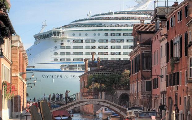 Venice Italy - Cruise Ships